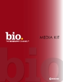 BIO THE BIOGRAPHY CHANNEL MEDIA KIT