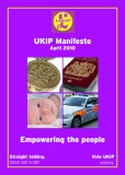 UKIP Manifesto Empowering the people