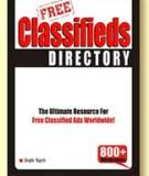 Classifieds Directory: The Ultimate Resource for Free Classified Ads Wordwide