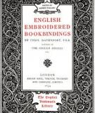 English Embroidered Bookbindings