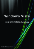Windows Vista - Customization Manual