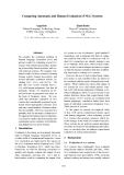 """Báo cáo khoa học: """"Comparing Automatic and Human Evaluation of NLG Systems"""""""