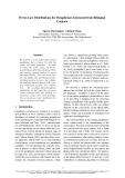 """Báo cáo khoa học: """"Power-Law Distributions for Paraphrases Extracted from Bilingual Corpora"""""""