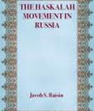The Haskalah Movement in Ru