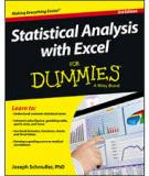 Statistical Analysis with Excel For Dummies, 3rd Edition