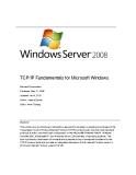 TCP/IP Fundamentals for Microsoft Windows