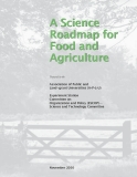 A Science Roadmap for Food and Agriculture