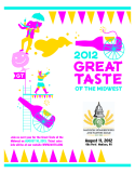 2012 GREAT TASTE OF THE MIDWEST