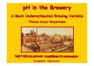 pH in the Brewery A Much Underestimated Brewing Variable