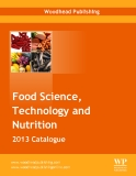 Food Science,  Technology and  Nutrition 2013 Catalogue