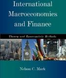 International Macroeconomics and Finance: Theory and Empirical Methods