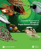 Sustainable Procurement of  Wood and  Paper-based Products
