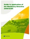 Guide to application of  the Machinery Directive  2006/42/EC