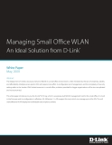 Managing Small Office WLAN An Ideal Solution from D-Link