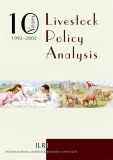 10 years of livestock policy analysis 1992 2002 policies for improving