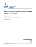 chemical facility security issues and options for the 112th congress