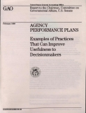 agency performance plans