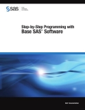 step by step programming with base sas software