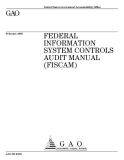 federal information system controls audit manual fiscam