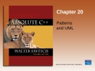 Chapter 20 Patterns and UML