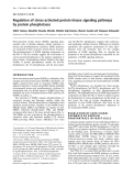 Báo cáo Y học: Regulation of stress-activated protein kinase signaling pathways by protein phosphatases