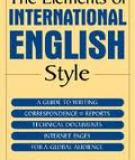 Guidelines for Writing English Language  Technical Documentation for an  International Audience