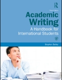 ACADEMIC WRITING A HANDBOOK FOR INTERNATIONAL STUDENTS