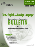 Testof English as a Foreign Language™ Information and Registration BULLETIN for Computer-based and Paper-based Testing