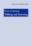 Focus on literacy: Talking and listening