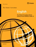 English - The Ontario Secondary School Literacy Course (OSSLC), Grade 12