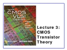 CMOS VLSI Design - Lecture 3: CMOS Transistor Theory