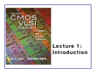 CMOS VLSI Design - Lecture 1: Introduction
