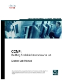CCNP: building Scalable Internetworks v5.0
