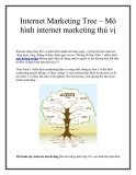Internet Marketing Tree – Mô hình internet marketing thú vị