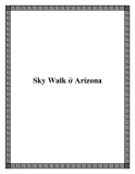 Sky Walk ở Arizona