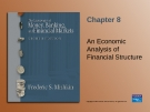 Analysis of financial structure