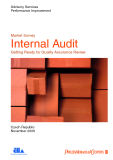 Market Survey Internal Audit Getting Ready for Quality Assurance Review