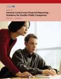 Internal Control over Financial Reporting – Guidance for Smaller Public Companies Volume II : Guidance