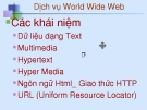 Dịch vụ World Wide Web