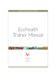 Ecohealth trainer manual