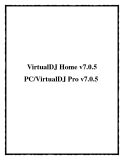 VirtualDJ Home v7.0.5 PC/VirtualDJ Pro v7.0.5