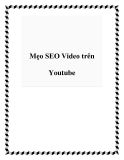 Mẹo SEO Video trên Youtube