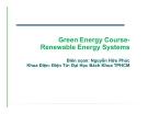 Green Energy CourseRenewable Energy Systems