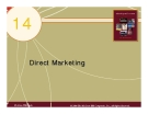 Chapter 14: Direct Marketing