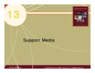 Chapter 13: Support Media