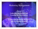Marketing Management basic