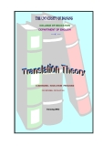 TRANSLATION THEORY