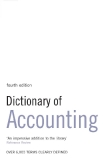 Dictionary of  Accounting Fourth edition