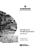 EV2100 Series Variable Speed Drive User Manual