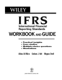 IFRS International Financial Reporting Standards